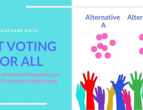 Dot Voting for all (KW33)