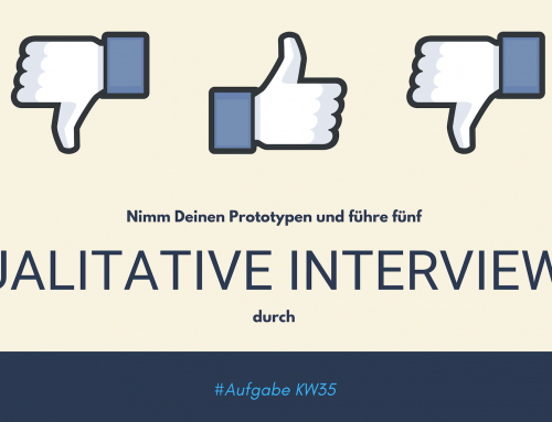 Qualitative Interviews (KW35)