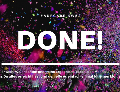 Done! (KW52)